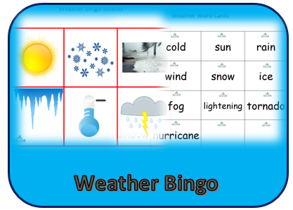 Weather Bingo